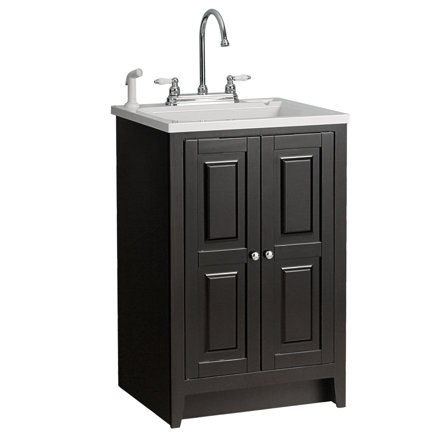 Lowes Sink Cabinets: Shop Foremost Casual Plastic Utility Tub In 23-7/8