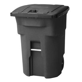 Shop Toter 96 Gallon Blackstone Outdoor Wheeled Trash Can