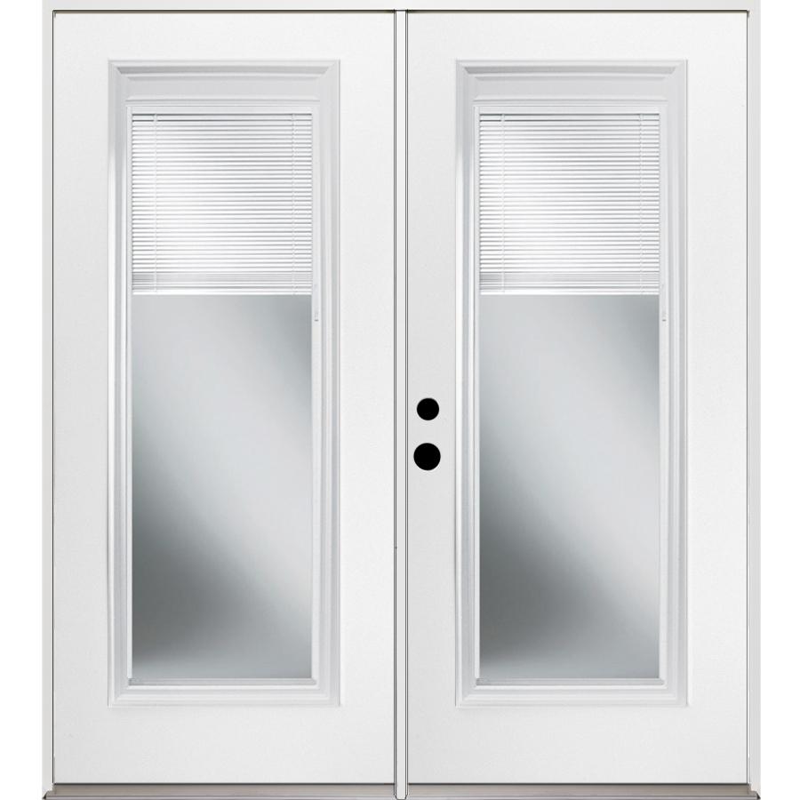 Shop Reliabilt 71 375 In Blinds Between The Glass Steel