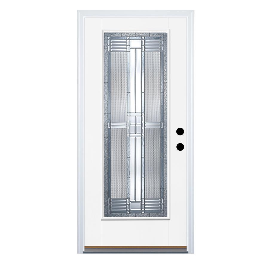 Lowes Exterior Doors: Shop Therma-Tru Benchmark Doors Full Lite Decorative