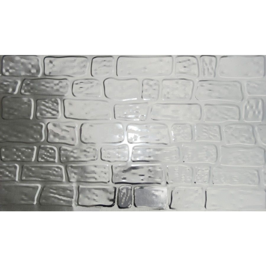 Lowe's 50-Pack 36-in x 5.06-ft Galvanized Metal Skirting Panels in Silver   36050