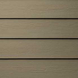 Shop James Hardie Primed Woodstock Brown Fiber Cement