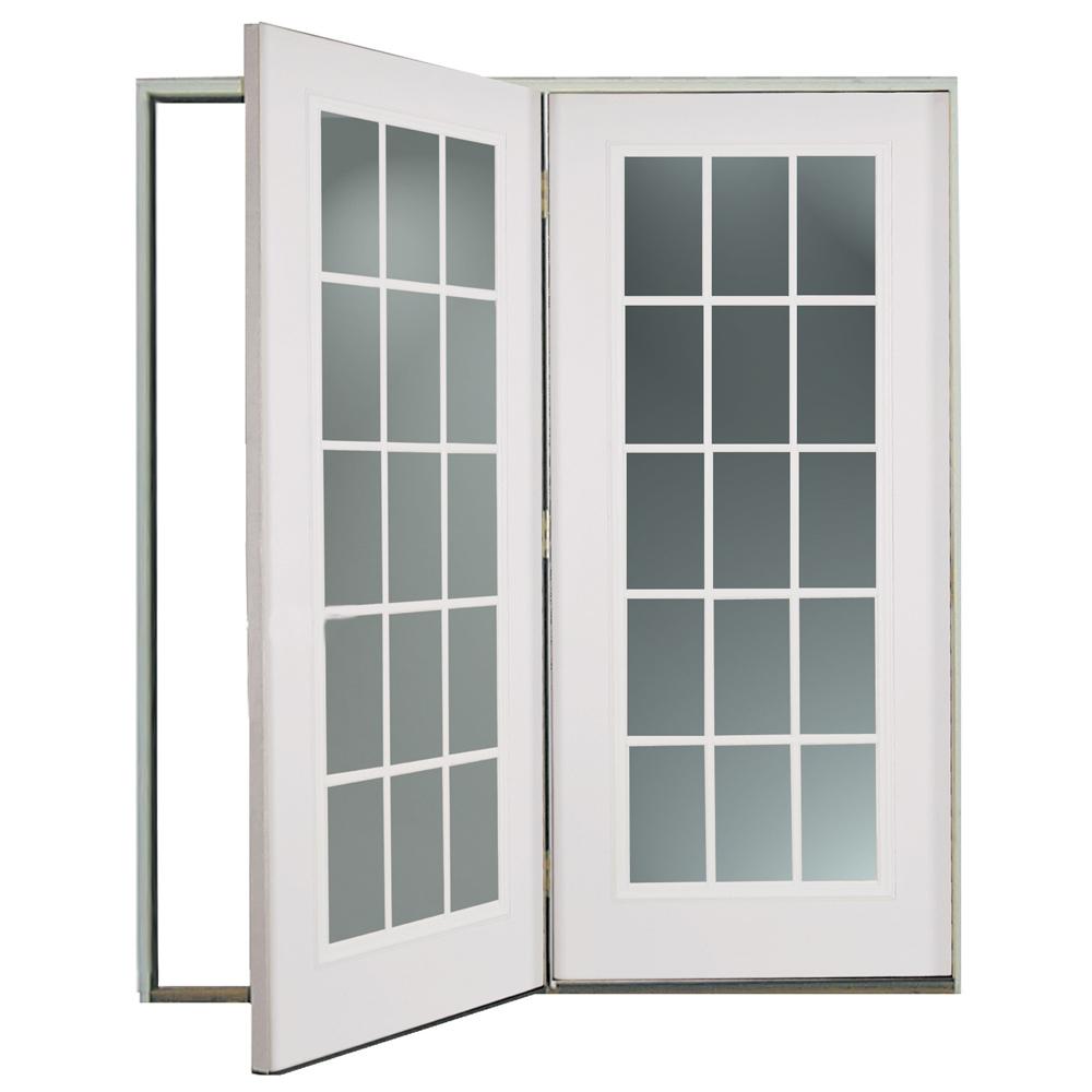 Shop Reliabilt 174 6 Reliabilt Center Hinged Patio Door