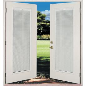 Shop reliabilt 6 39 reliabilt french patio door miami dade - Outswing exterior french doors with blinds ...