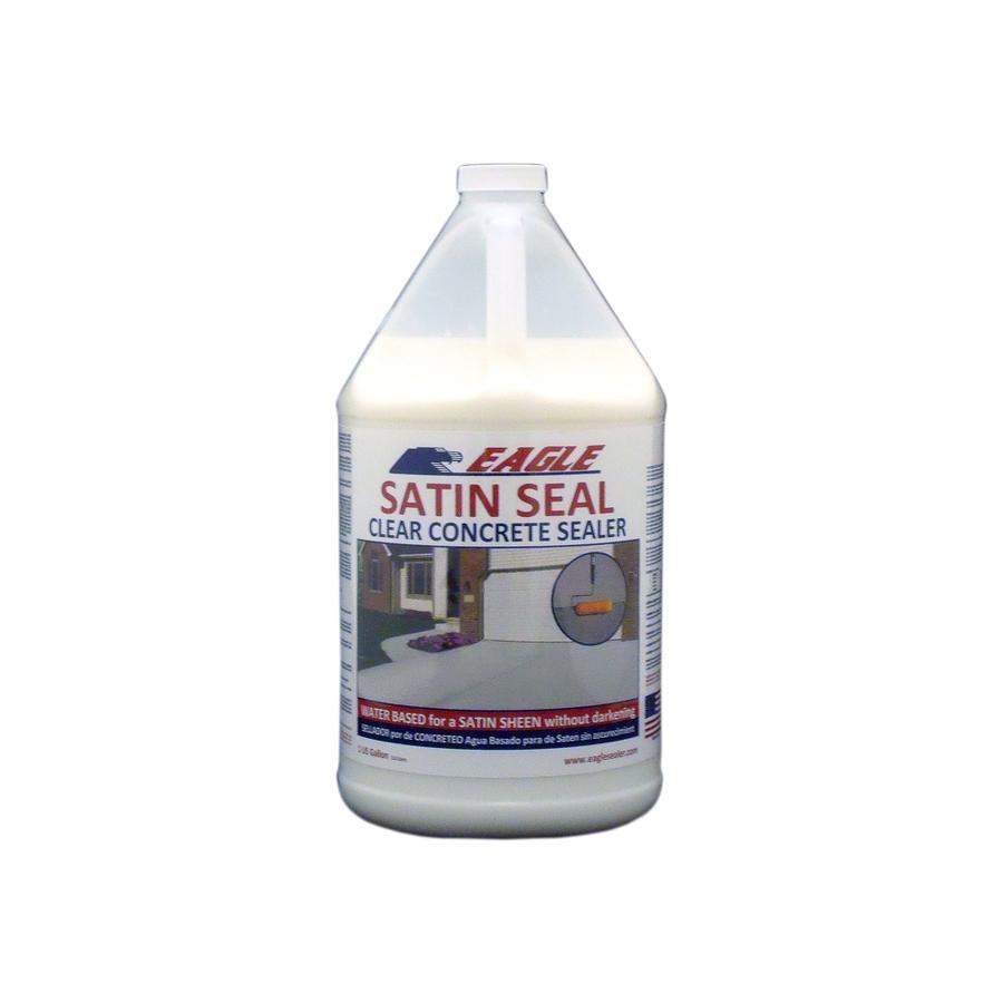 Shop Eagle 1 Gallon Satin Seal Concrete Sealer At Lowes Com