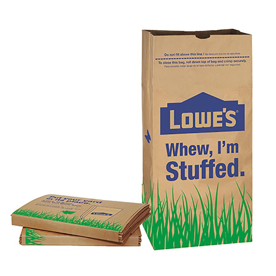 Shop Garbax 5-Count 30-Gallon Indoor/Outdoor Trash Bags at ...