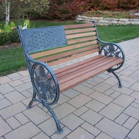 Phenomenal Patio Benches At Lowes Com Andrewgaddart Wooden Chair Designs For Living Room Andrewgaddartcom