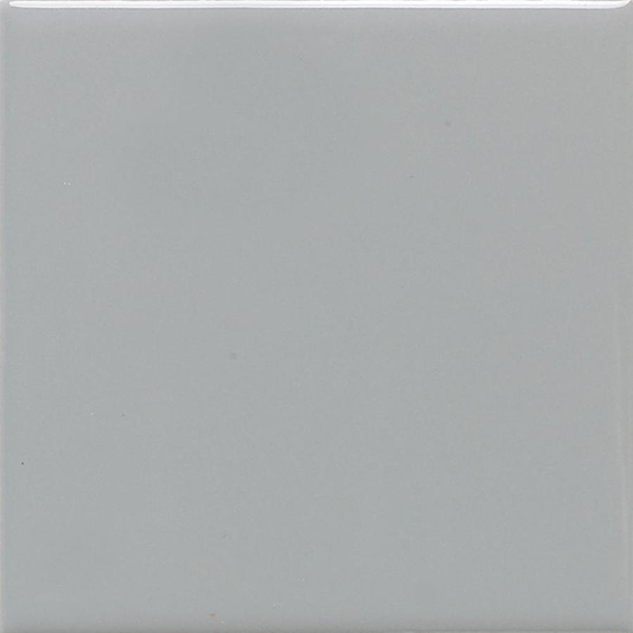 American Olean Bright 100-Pack Light Smoke Gloss 4-In X 4-In Glossy Ceramic Wall Tile 004244Sp