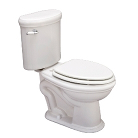 ERA 959 White  Chair Height 2-piece Toilet 12-in Rough-In Size - Jacuzzi BK37959