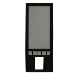 Shop Screen Tight Southport 30 In Black Wood Screen Door