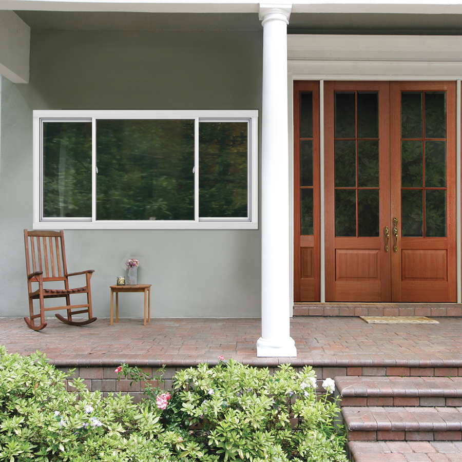 Shop Jeld Wen V2500 Series Left Operable Vinyl Double Pane