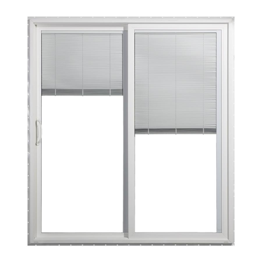 Shop Jeld Wen 59 5 In Blinds Between The Glass Vinyl