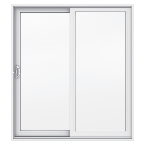 JELD WEN 71.5 In X 79.5 In Clear Glass Left Hand Sliding