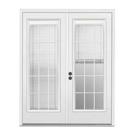 Display Product Reviews For Blinds Between The Gl Primed Steel French Patio Door With Insulating Core