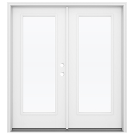 Display Product Reviews For Primed Fiberglass French Patio Door With  Insulating Core (Common: 72