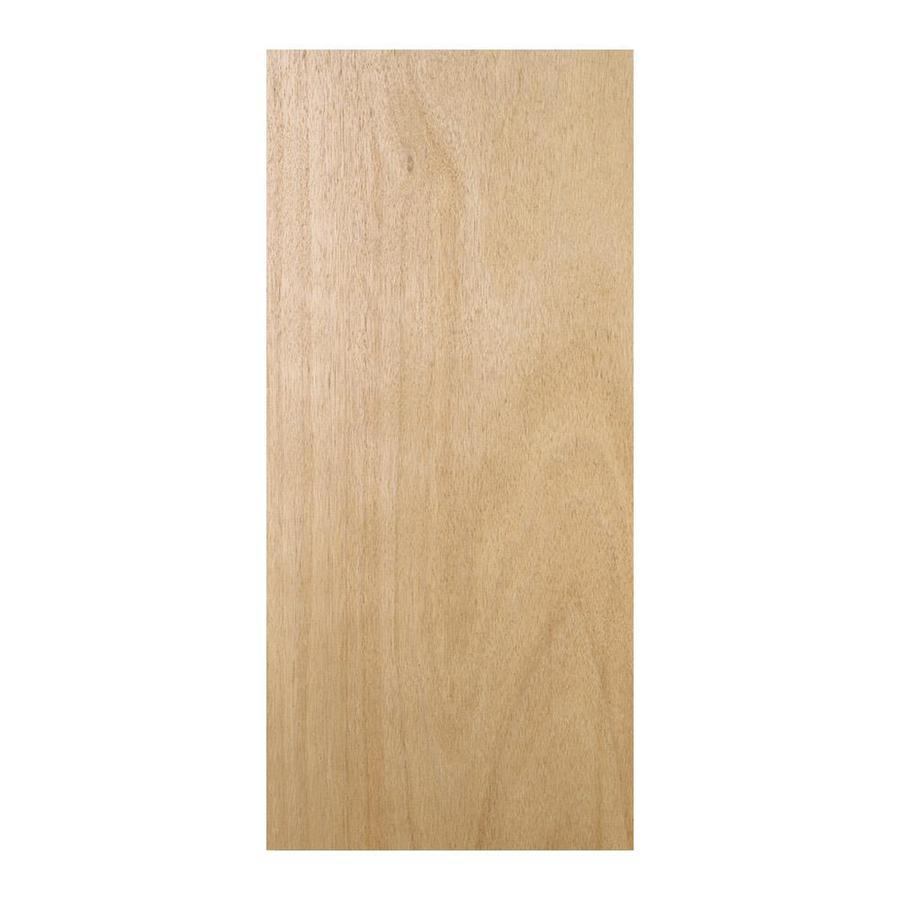Shop Reliabilt 36 In X 80 In Flush Lauan Solid Core Non
