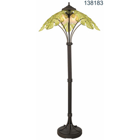 Shop Bel Air Lighting Green Outdoor Lamp At Lowes Com