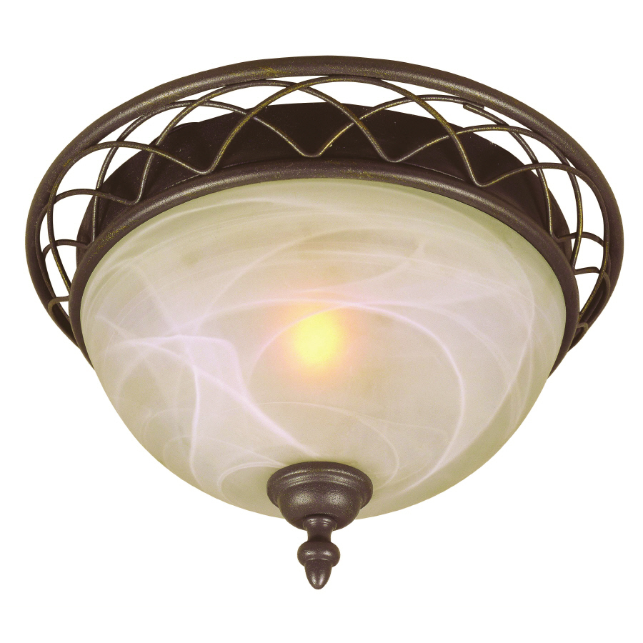Lowes Ceiling Lights: Shop Bel Air Lighting 12.64-in W Ceiling Flush Mount At