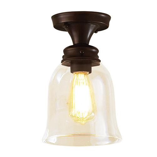 Allen Roth Oil Rubbed Bronze One Retro Light Edison