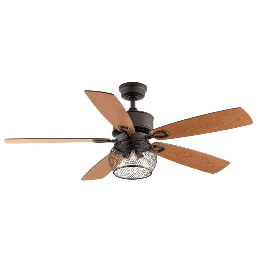 Satin Bronze Led Indoor Ceiling Fan