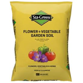Sta-Green Flower and Vegetable Garden Soil