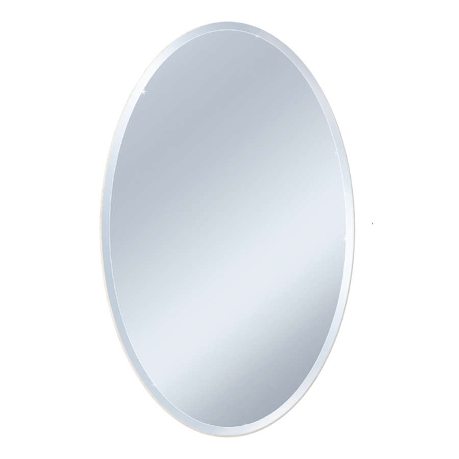 Style Selections Style Selections L X W Oval Beveled Wall Mirror 8408 From Lowe S Daily Mail