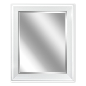 Display Product Reviews For 24 In X 30 White Rectangular Framed Bathroom Mirror