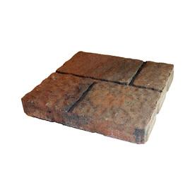 Shop Ashland Four Cobble Concrete Patio Stone Common 16
