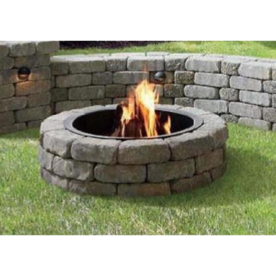 Firepit Kit 43 5 In X 12 Fire Pit The Project Kits Department At Lowes