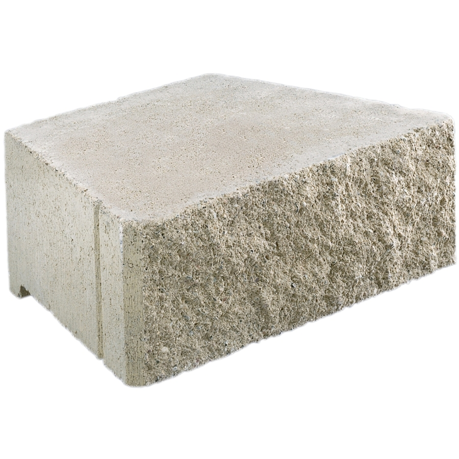 Shop Gray Basic Retaining Wall Block Common 17 In X 6 In