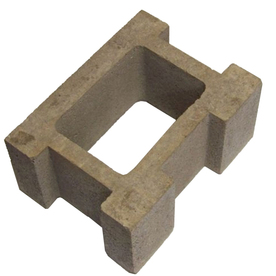 Shop Oldcastle Concrete Fence Block Common 8 In X 12 In X 16 In Actual 7 875 In X 11 5 In X