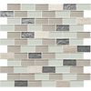 American Olean Mosaic Monte Carlo Ceramic Mosaic Square Wall Tile (Common: 12-in x 12-in; Actual: 11.75-in x 12.75-in)
