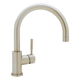 Blanco blancomeridian satin nickel 1 handle high arc - Mico designs seashore kitchen faucet ...