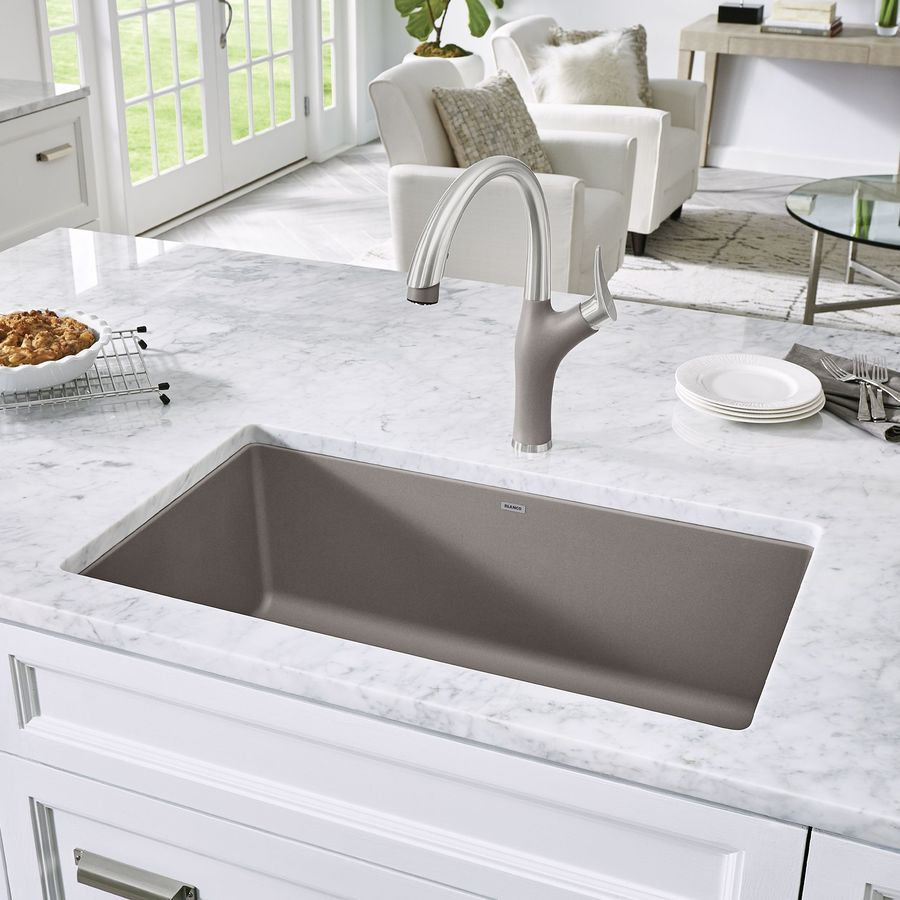 blanco granite sinks blanco undermount kitchen sinks white gold 961