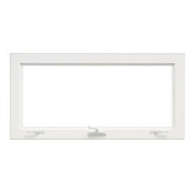 Shop ThermaStar by Pella 36-in x 24-in Awning Window at ...