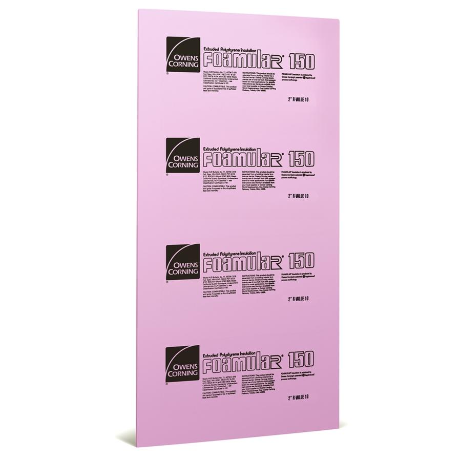 Shop Owens Corning Extruded Polystyrene Foam Board