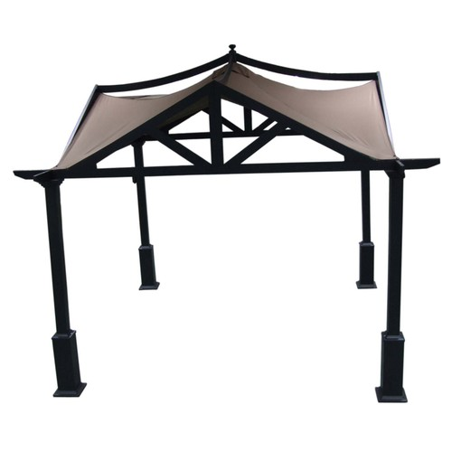 Allen Roth 10 X 10 Asian Style Garden Gazebo From Lowes