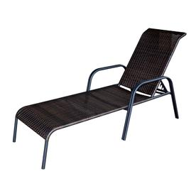 Display Product Reviews For Pelham Bay Wicker Stackable Steel Chaise Lounge Chair With Fabric Woven Cushion