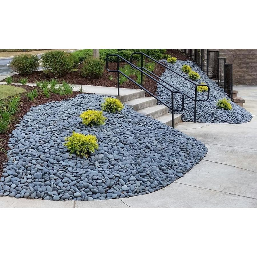 20 Lb LF Inc Decor Garden Landscape Premium Large Mixed Mexican Beach Pebbles 3-5 inches