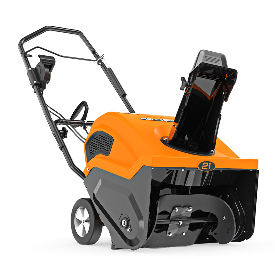 Ariens Path-Pro 21-in 208-cc Single-Stage Gas Snow Blower with Push-Button Electric Start Rubber   938033