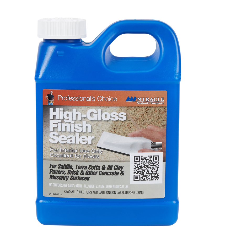 Miracle Sealants 32 Fl Oz Clear Natural Stone Sealer And Finish Pour Bottle In The Indoor Floor Sealers Department At Lowes Com