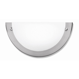 Shop Good Earth Lighting Glencoe 8.5-in W 1-Light Nickel ... on Wall Sconce Replacement Parts id=47008