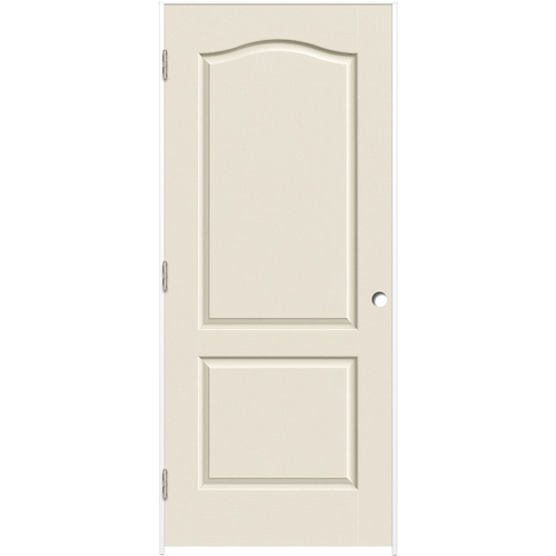 Reliabilt Primed Hollow Core Molded Composite Prehung Interior Door Common 24 In X 80 In