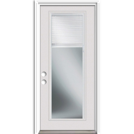 Display Product Reviews For Blinds Between The Glass Right Hand Inswing  Primed Steel Entry Door