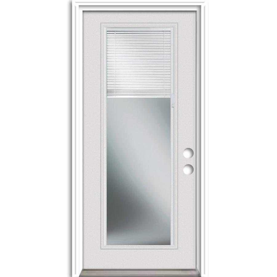 Single patio door with built in blinds simonton patio - Exterior glass door with built in blinds ...