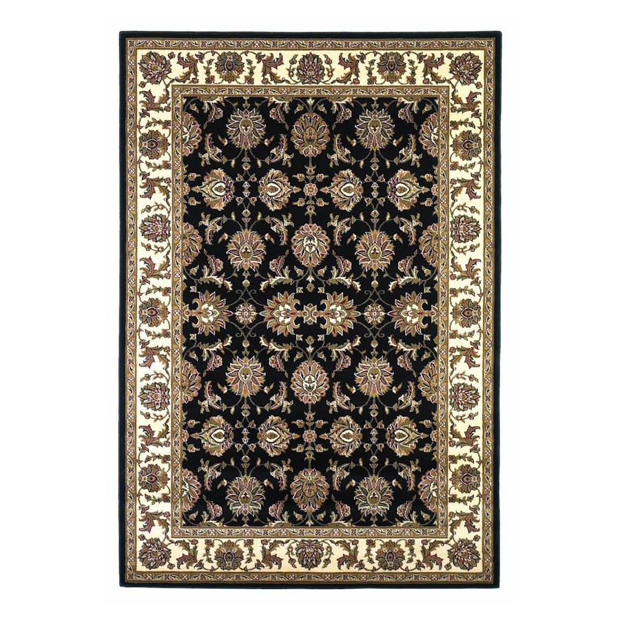 Shop Kas Rugs Rectangular Black Transitional Woven Area