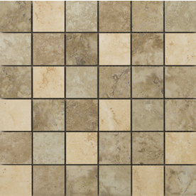 Emser 13-in x 13-in Lucerne Mosaic Blend Glazed Porcelain Mosaic Floor Tile (Actuals 13-in x 13-in) F72LUCEMC1313MOB
