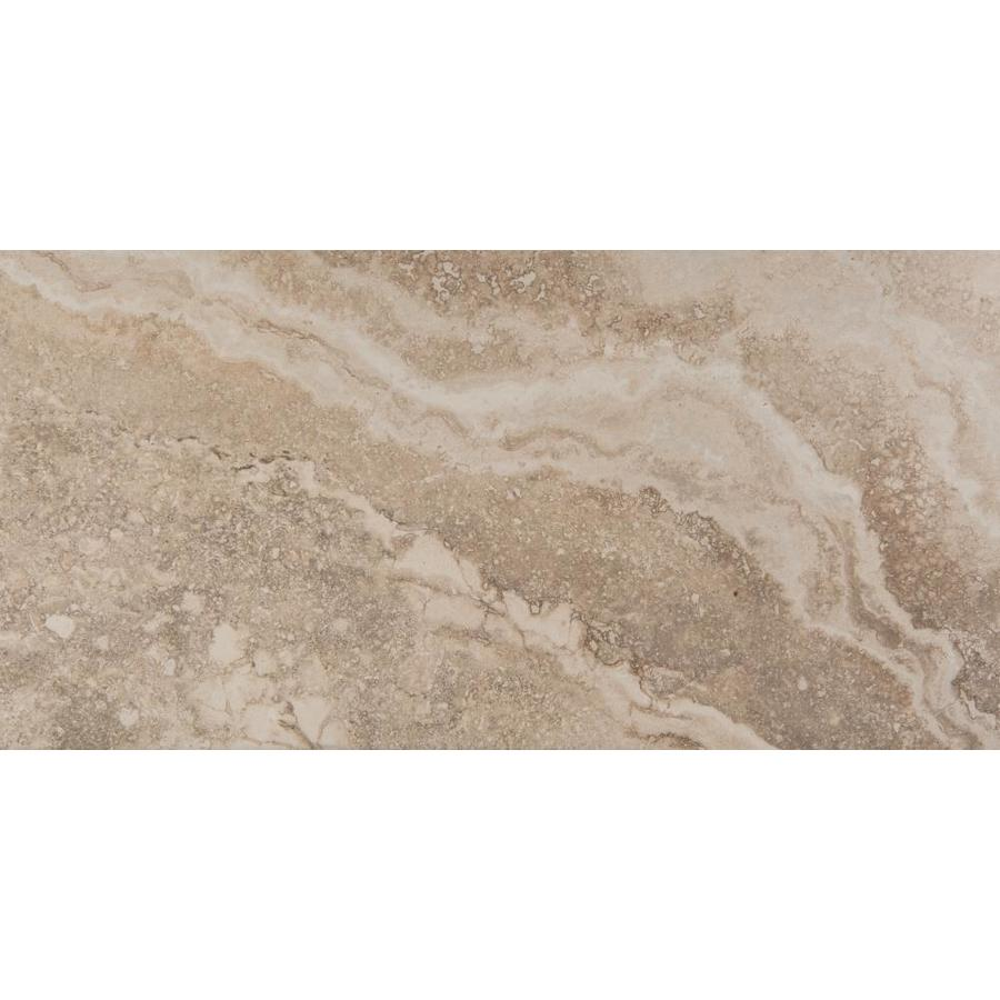 Emser Homestead 6-Pack Cream 12-in x 24-in Glazed Porcelain Stone Look Floor and Wall Tile | F02HOMECR1224 -  Emser Tile
