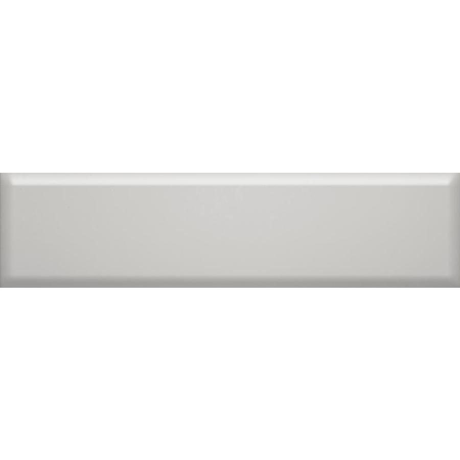Emser Vogue 20-Pack Gray 4-in x 16-in Glossy Ceramic Subway Wall Tile | F31VOGUGR0416BP -  Emser Tile