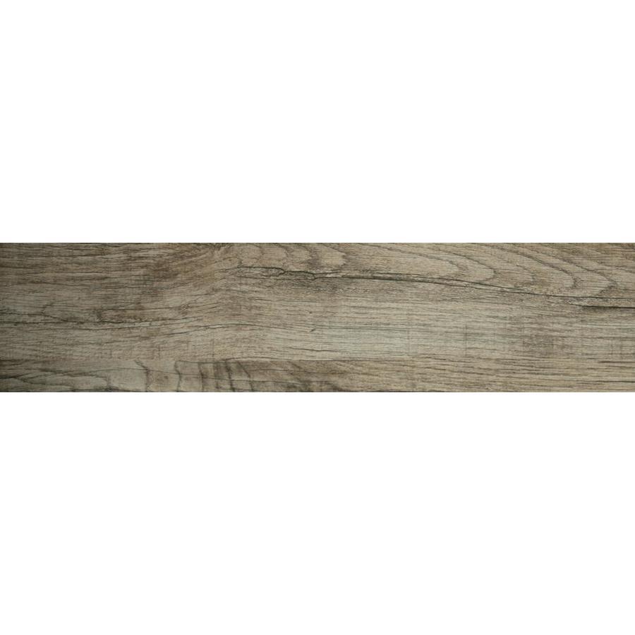 Emser Woodwork 10-Pack Hillsboro 6-in x 24-in Glazed Porcelain Wood Look Floor and Wall Tile | F78WOODHI0624 -  Emser Tile